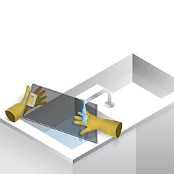 Почиствайте периодично филтъра за мазнини