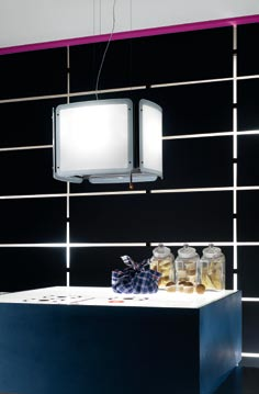 Ambient Light технологията на Elica се грижи за осветяване на пространството около аспиратора