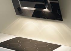 Elica аспиратори с осветителна система на базата на LED-технологиите