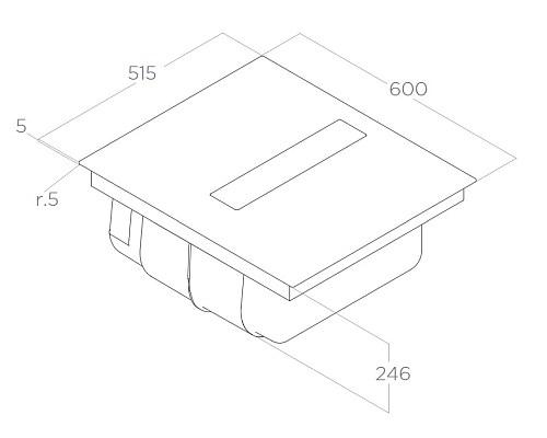 ELICA варианти за монтаж на аспириращ котлон Nikola Tesla FIT - аспиратор плот 2 в 1