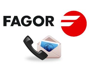 За връзка с Fagor контакти