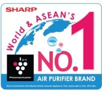 Въздухопречиствателите на Sharp са номер едно по продажби в целия свят