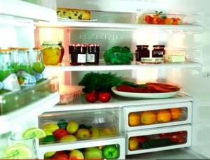 Хибридна система за охлаждане в този хладилник Sharp